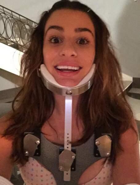 Lea Michele, à peine reconnaissable dans Scream Queens