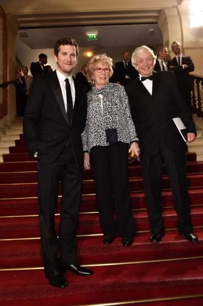 Guillaume Canet et ses parents