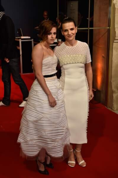 Kristen Stewart et Juliette Binoche