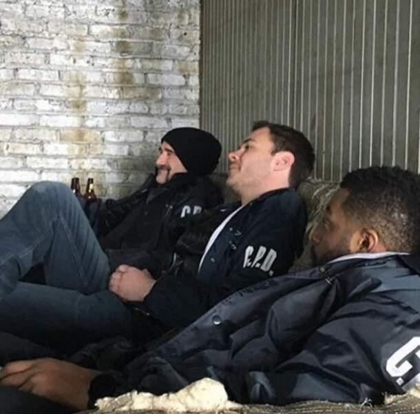 Pendant que ceux de Chicago PD – Olinsky, Ruzek et Atwater– font une sieste…bien méritée ?
