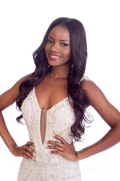 Maggaly Nguema, Miss Gabon 2014