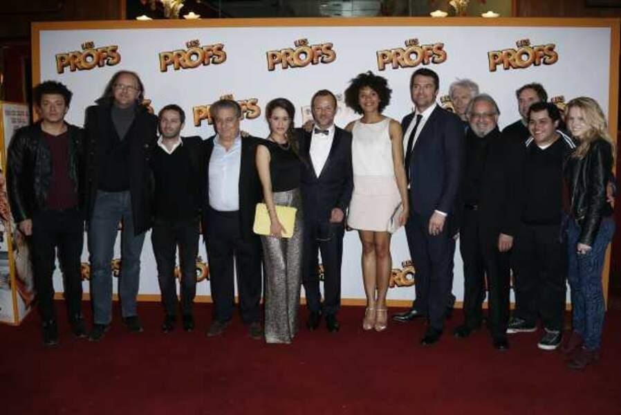 L'équipe du film Les Profs