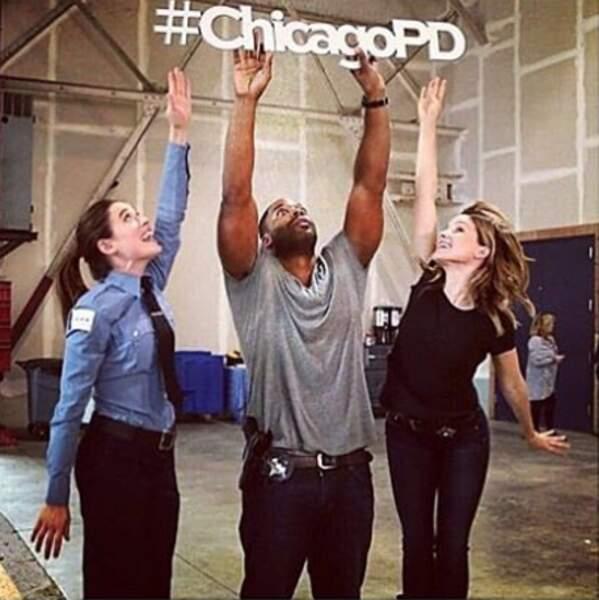 Les acteurs de Chicago P.D. veulent aller haut, toujours plus haut