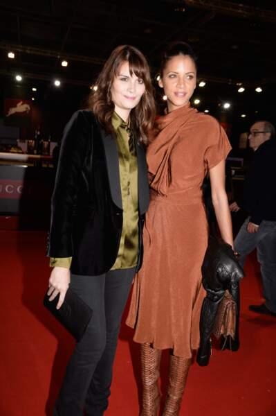 La comédienne Marina Hands et le mannequin Noémie Lenoir