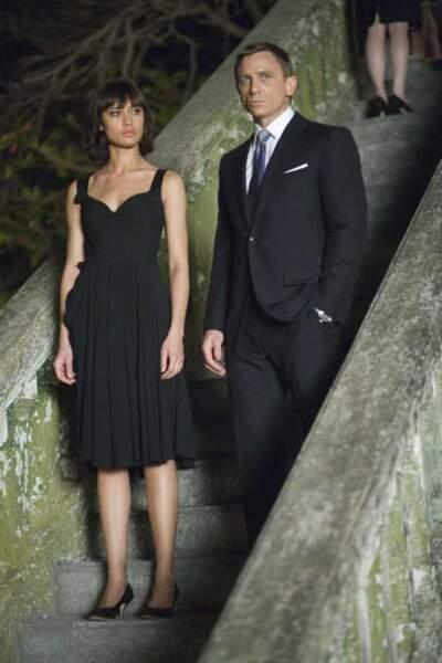 Daniel Craig et Olga Kurylenko dans Quantum of Solace (2008)