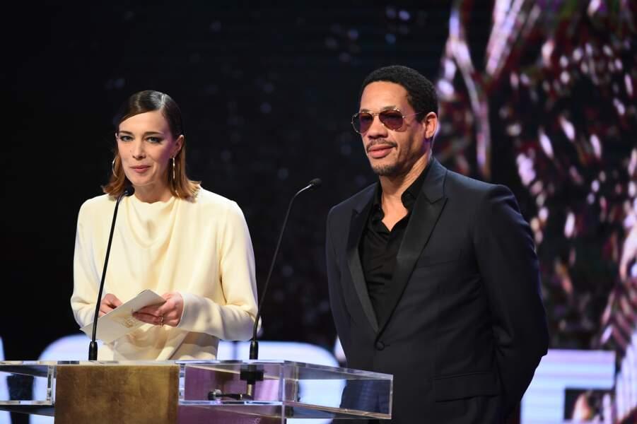 Céline Sallette et JoeyStarr ont attribué le César de la meilleure actrice dans un second rôle à Kristen Stewart