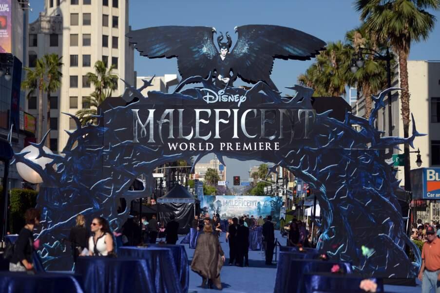 Pour l'avant-première de Maléfique, Disney a frappé fort niveau décor