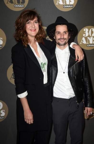 Daphné Bürki et compagnon Gunther Love, champion d'air guitar