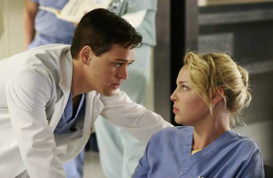 Grey's Anatomy (de 2005 à 2009), avec T. R. Knight