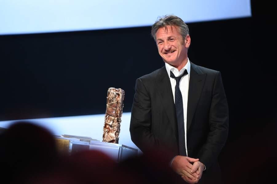 Dans son speech de remerciements, Sean Penn a complimenté les artistes français…