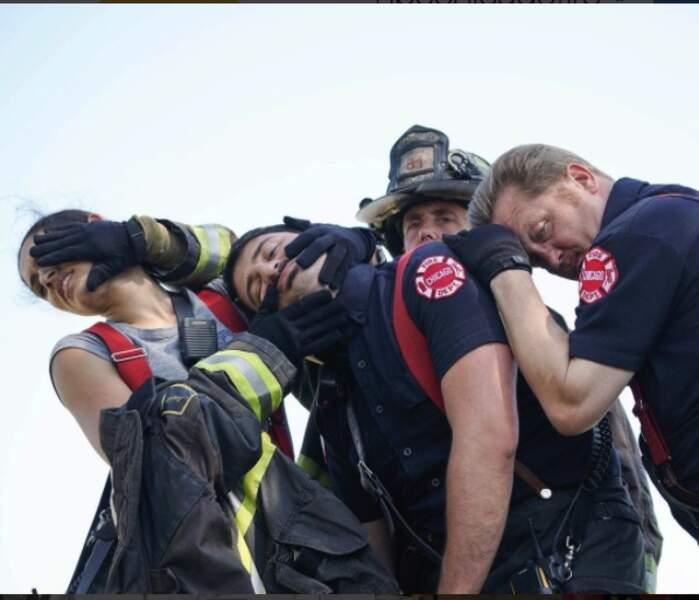 Jeux de mains, jeux de vilains pour les pompiers de Chicago Fire ?