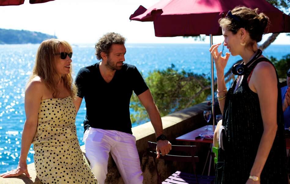 Sur le tournage de MON ROI (2015), elle dirige Vincent Cassel et Emmanuelle Bercot