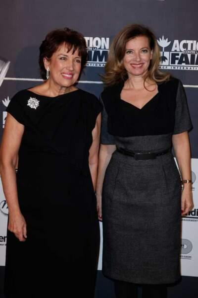 Roselyne Bachelot et Valerie Trierweiler