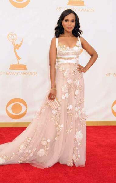 Kerry Washington, la star la mieux habillée de 2013 selon People Magazine