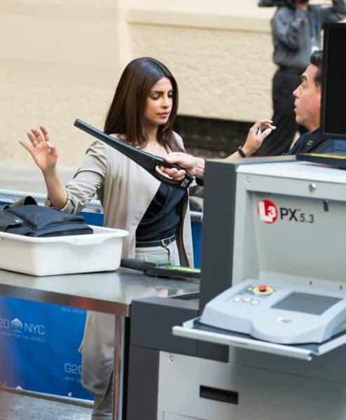 Priyanka Chopra se soumet au détecteur pour Quantico