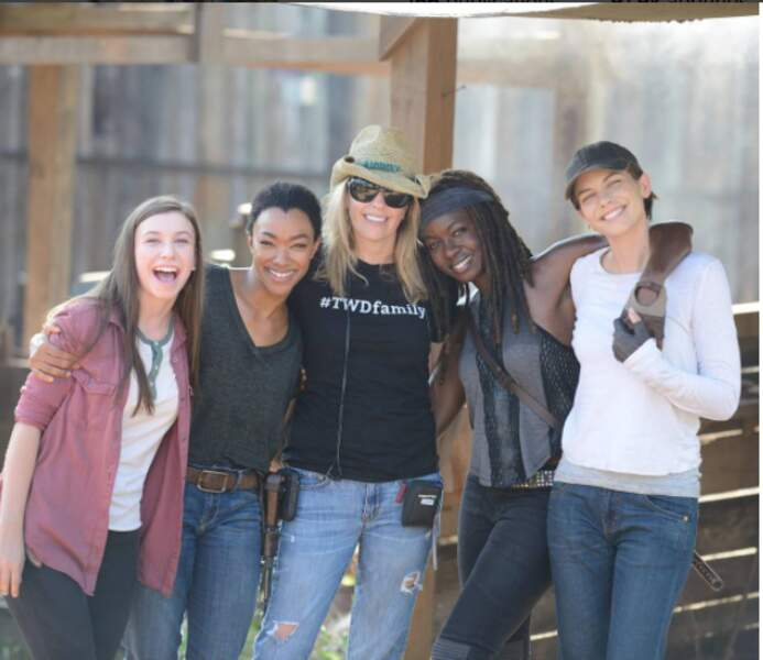 Zoom chez les filles de The Walking Dead