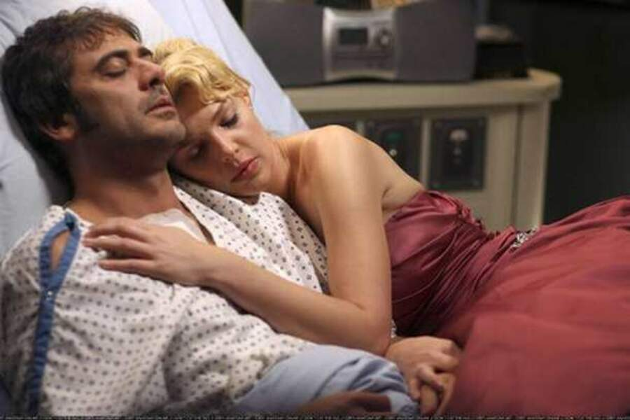 Grey's Anatomy (de 2005 à 2009), avec Jeffrey Dean Morgan