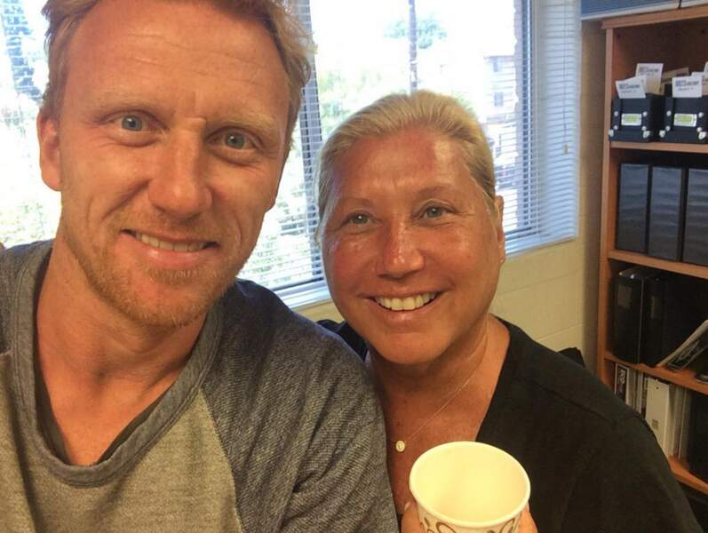Kevin McKidd aussi a retrouvé sa blouse de médecin et Linda Kleine, l'une des expertes de la série