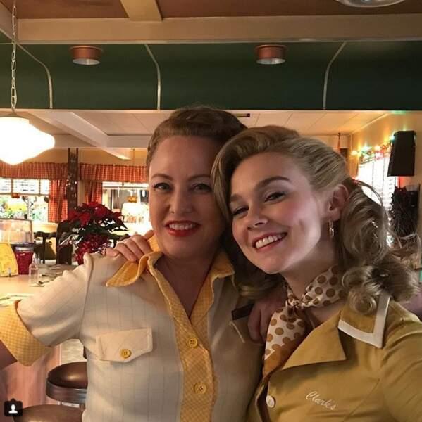 Virginia Madsen, l'interprète de Tamara, et sa fille de fiction, Tessa Mossey, alias Jenny jeune