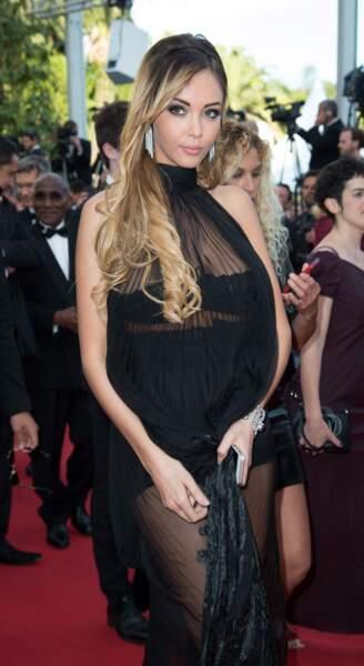 En mai 2014, elle foule le tapis rouge de Cannes.