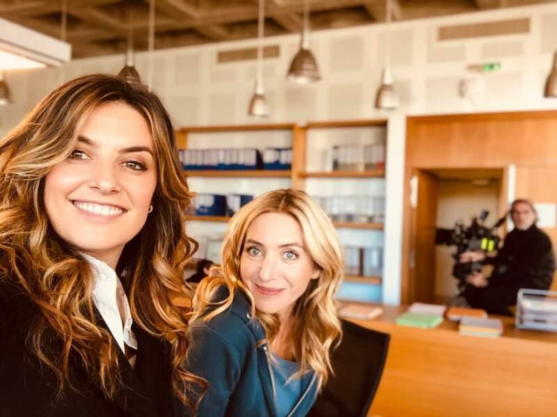 Laetitia Milot vient de commencer le tournage d'Olivia, sa nouvelle série pour TF, avec Cyrielle Debreuil