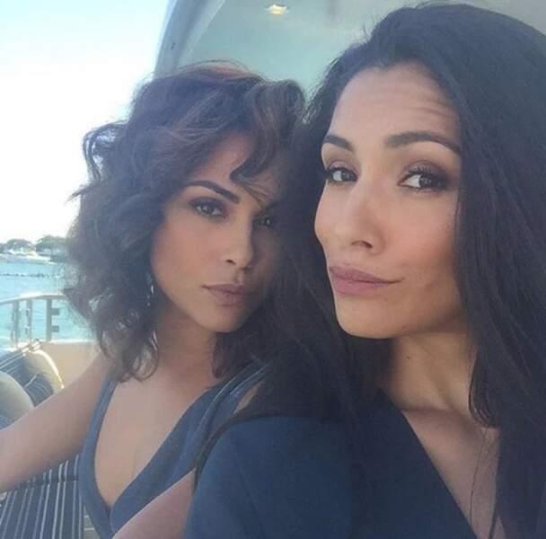 Alors que les filles, Monica Raymund et Miranda Rae Mayo, elles, sont bien plus calmes