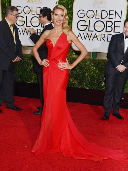Heidi Klum, incandescente