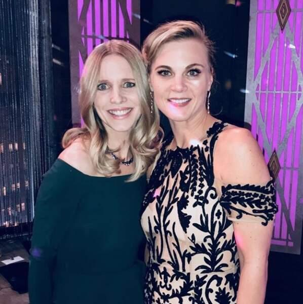 Lauralee Bell et Gina Tognoni sont très amies à l'inverse de leurs personnages dans Les Feux de l'amour