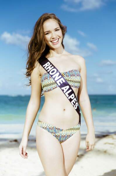 Miss Rhône Alpes : Aurore Thibaud