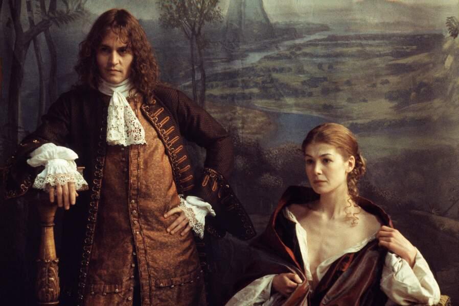 Dans Rochester, le dernier des libertins (2004) où elle donne la réplique à un Johnny Depp perruqué.