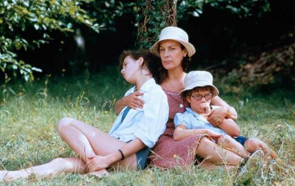 Avec Charlotte Gainsbourg et Julie Glenn dans L'Effrontée, de Claude Miller (1985)