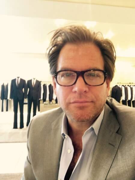 Michael Weatherly relooké pour les besoins de sa nouvelle série, Bull