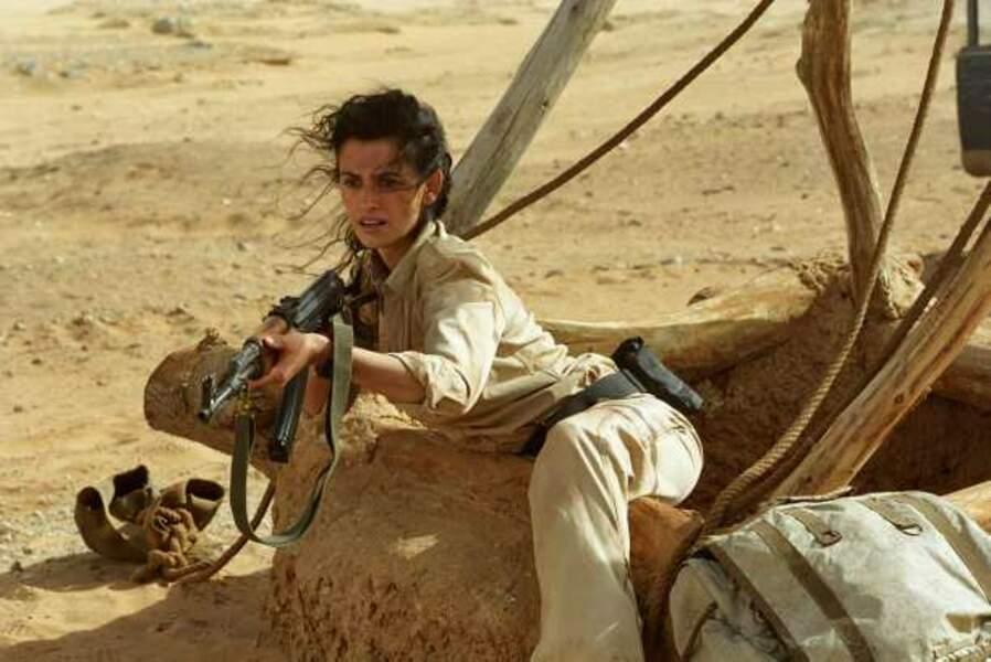 ... et manie les armes avec brio dans Sahara (2005)