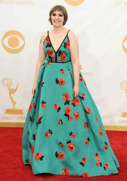 """Lena Dunham, une """"Girl(s)"""" en fleurs"""
