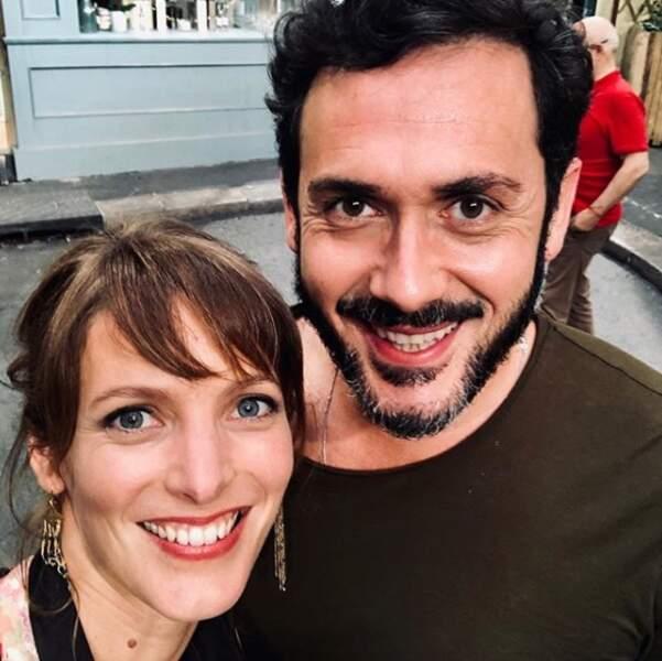 Estelle (Elodie Varlet) et Francesco, le nouveau couple glamour du Mistral !