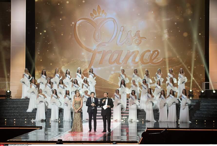 Les 33 prétendantes au titre de Miss France 2015