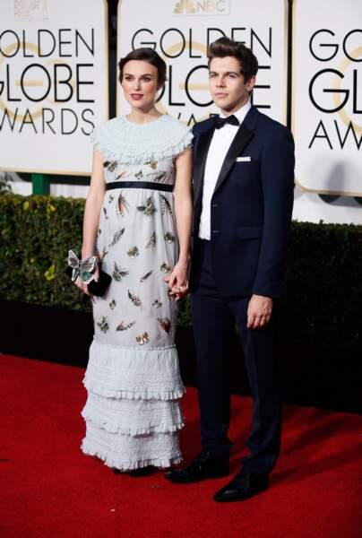 Keira Knightley et son mari James Righton