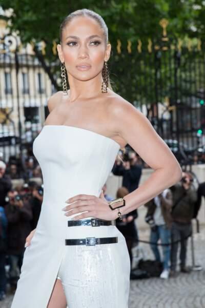 Jennifer Lopez a assisté au défilé Versace