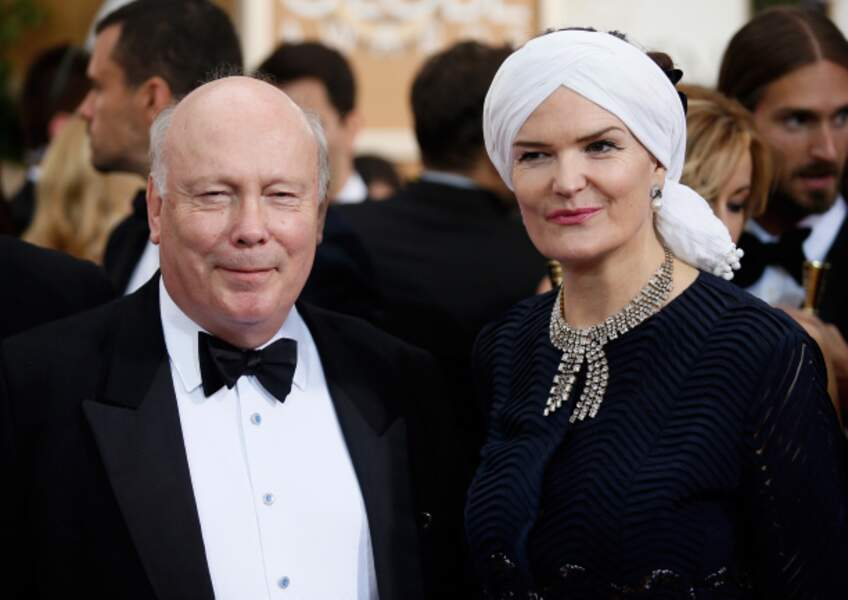 Julian Fellowes, le créateur de Downton Abbey et sa femme Emma