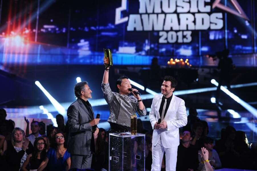Psy, gagnant de la chanson internationale et du clip de l'année