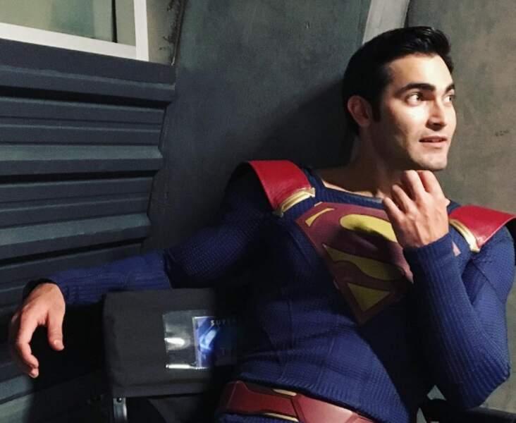 Pas mal Tyler Hoechlin en Superman !