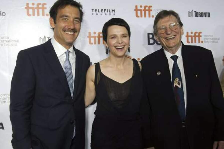 Clive Owen, Juliette Binoche et Fred Schepisi