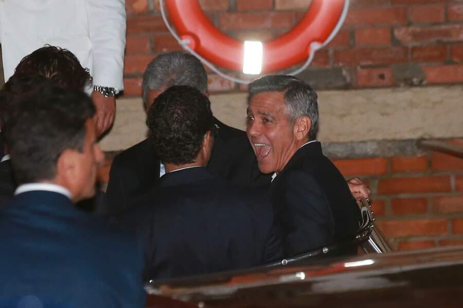 La veille de la cérémonie, George Clooney avait enterré sa vie de garçon