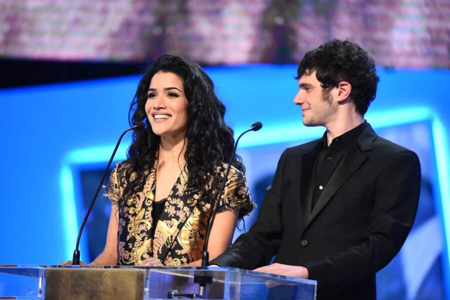 Sabrina Ouazani et Félix Moati ont remis César du meilleur court métrage à La Femme de Rio