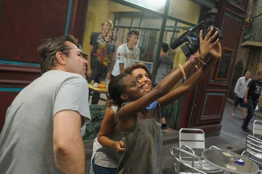 Tia Diagne semble avoir bien profité de la présence de Tal sur le tournage