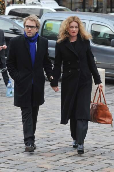 L'écrivain Florian Zeller et la comédienne Marine Delterme.