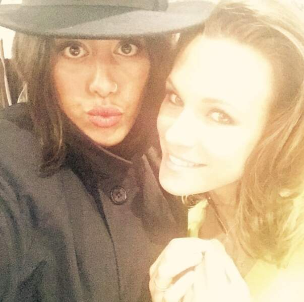 """Amel Bent et Lorie : """"Say cheese"""""""