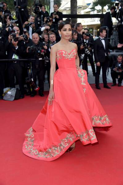 L'actrice indienne Freida Pinto