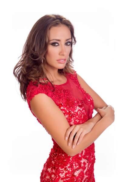Claudia Tavel, Miss Bolivie 2014