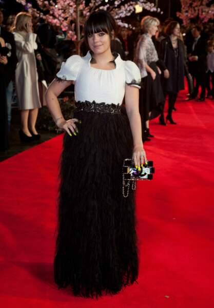 La chanteuse Lily Allen